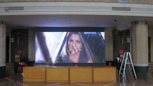 佛山南海影剧院120万像素点高清led大屏幕